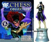 DC Chess Figurine Collection #07 Batgirl White Knight Eaglemoss